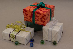 五颜六色的礼品 库存图片