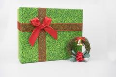 五颜六色的礼物包裹,新年,华伦泰` s天 免版税库存图片
