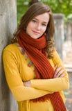 五颜六色的秋天方式妇女 库存图片