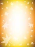 五颜六色的秋天背景 免版税库存图片