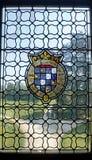 五颜六色的窗口在法国 免版税库存照片