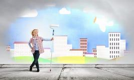 五颜六色的童年 图库摄影