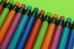 五颜六色的笔 免版税库存照片