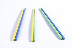 五颜六色的筷子 免版税图库摄影