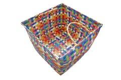 五颜六色的篮子 免版税库存照片