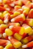 五颜六色的糖味玉米为万圣夜 库存图片