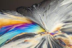 五颜六色的糖微小水晶 库存照片