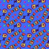 五颜六色的糖果和软心豆粒糖 免版税库存照片