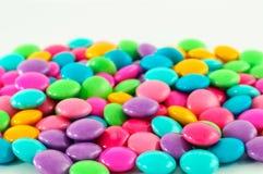 五颜六色的糖果巧克力 库存照片