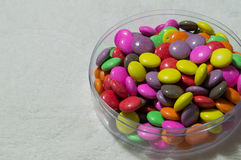 五颜六色的糖果彩虹 库存照片