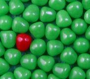 五颜六色的糖果背景 免版税库存照片