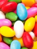 五颜六色的糖衣杏仁 免版税库存照片