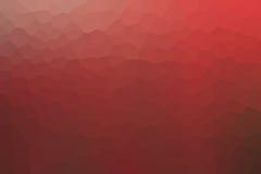五颜六色的红色三角 库存例证