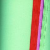 五颜六色的纸背景 免版税库存图片