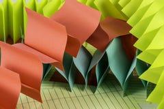 五颜六色的纸 免版税库存照片