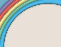 五颜六色的纸 库存图片
