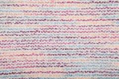 五颜六色的纺织品纹理 库存照片