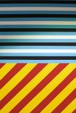 五颜六色的线性抽象背景 免版税库存照片