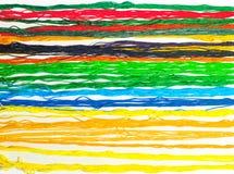 五颜六色的线程数 免版税图库摄影