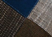 五颜六色的织品样式可以为背景使用 免版税库存图片