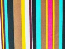五颜六色的织品线背景 免版税库存图片
