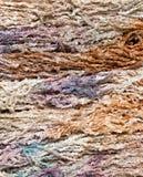 五颜六色的编织的纱线 免版税图库摄影