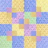 五颜六色的缝制的设计 免版税库存图片