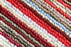 五颜六色的羊毛 免版税图库摄影