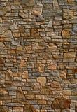 五颜六色的老石纹理墙壁 免版税库存照片