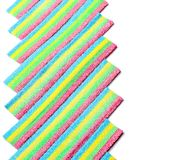 五颜六色的耐嚼的糖果 图库摄影
