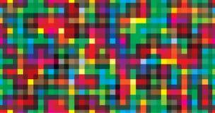 五颜六色的背景几何无缝的反复向量图形 库存照片