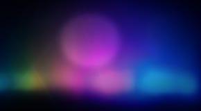 五颜六色的背景真正的投射斑点 免版税库存照片