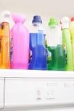 五颜六色的胶凝体洗涤 库存照片