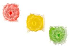 五颜六色的脯果冻 免版税图库摄影