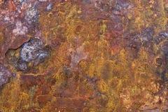五颜六色的腐蚀铁锈 免版税库存照片