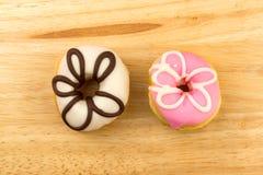 五颜六色的自创多福饼 免版税库存图片