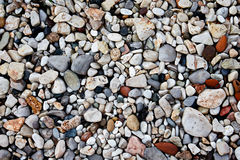 五颜六色的自然石头 免版税库存图片