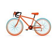 五颜六色的自行车 免版税库存图片