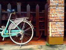 五颜六色的自行车 图库摄影