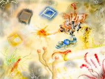 五颜六色的艺术品 免版税图库摄影