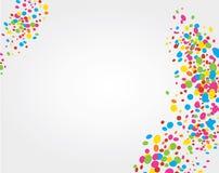 五颜六色的节日来临 免版税库存图片