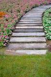 五颜六色的花园 免版税图库摄影