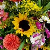 五颜六色的花束图象 免版税库存照片