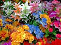 五颜六色的花束 库存照片