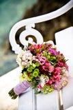 五颜六色的花束 免版税库存图片