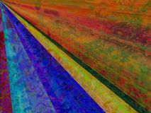 五颜六色的草甸 免版税图库摄影