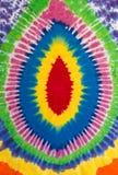 五颜六色的荧光的领带染料设计独特的样式背景 库存照片