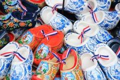 五颜六色的荷兰人障碍物 免版税库存图片