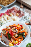 五颜六色的菜混合 图库摄影