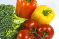 五颜六色的蔬菜 免版税库存照片